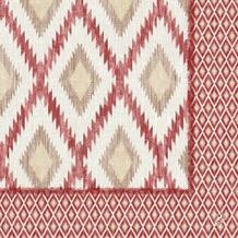 Duni Zelltuch-Servietten Motiv Malina bordeaux 40x40 cm 3lagig, 1/4 Falz 250 St.