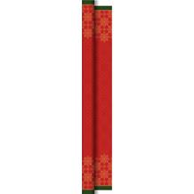 Duni Dunicel-Tischdeckenrollen 1,18 m x 25 m Xmas Deco Red