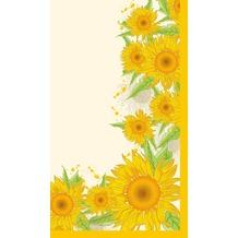 Duni Mitteldecken aus Dunicel 84 x 84 cm Sunflower Splash