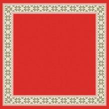 Duni Dunicel® Mitteldecken Urban Yule Red 84x84 cm 100 Stück