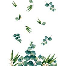 Duni Dunicel® Tischdecken Eucalyptus 138 x 220 cm 1 Stück