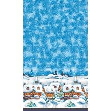 Duni Dunicel Tischdecken Winter Village 138 x 220 cm 1 Stück