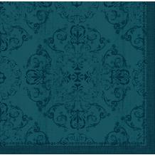 Duni Dunilin-Servietten Opulent ocean teal 40 x 40 cm 45 Stück