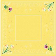 Duni Dunisilk-Mitteldecken Spring Lilies 84 x 84 cm 20 Stück