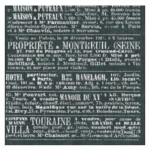 Duni Dunisoft-Servietten 20 x 20 cm  1/4 Falz Le Bistro, 180 Stück