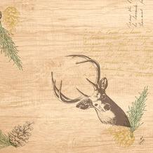 Duni Dunisoft-Servietten 40 x 40 cm My Deer