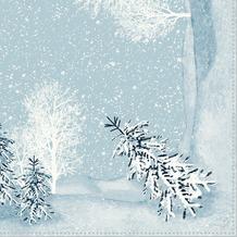 Duni Dunisoft-Servietten 40 x 40 cm Winter Mornings