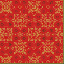 Duni Dunisoft-Servietten 40 x 40 cm Xmas Deco Red