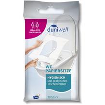 Duni Duniwell WC-Papiersitze, 10 Stück