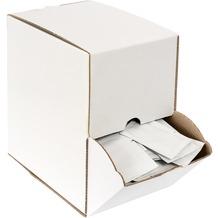 Duni Erfrischungstücher (Kompostierbar) Spenderbox 50 x 70 mm 250 Stück