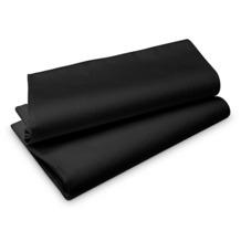 Duni Evolin-Mitteldecken Wow schwarz 84 x 84 cm 14 Stück