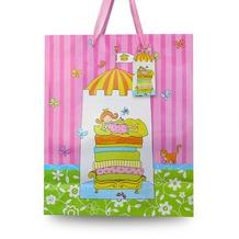 Duni Geschenktüte Little Princess 26,4 x 32,3 x 11,4 cm