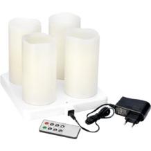 Duni LED Stumpenkerze 125 x 75  mm Warm White Set 4 Stück