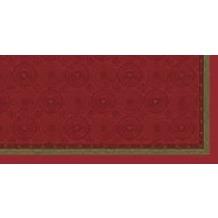 Duni Mitteldecken aus Dunisilk®+ 84 x 84 cm Festive charme, 20 Stück