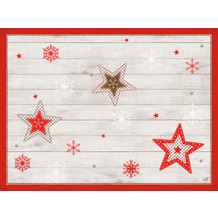 Duni Papier-Tischsets 30 x 40 cm Cozy Winter