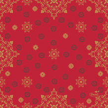 Duni Servietten Tissue 24 x 24 cm X-Mas Deco Red 20er Pack