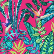 Duni Servietten Tissue Chameleon 33 x 33 cm 20 Stück
