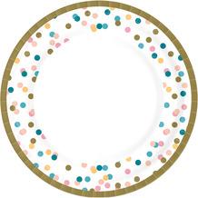 Duni Teller Pappe Dream Dots ø 22 cm 10 Stück