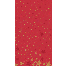 Duni Tischdecken Dunicel® 138 x 220 cm Shining Star Red 1er Pack