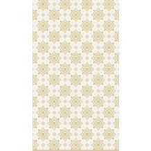 Duni Tischdecken Dunicel® 138 x 220 cm X-Mas Deco Cream 1er Pack