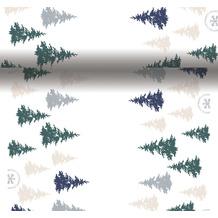 Duni Tischläufer 3 in 1 Dunicel® 0,4 x 4,8 m Postcard Trees 1er Pack
