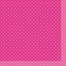 Duni Servietten pink (Tissue) 33 x 33 cm Brook Pink, 20 Stück