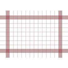 Duni Towel Napkin 38 x 54 cm Red, 50 Stück