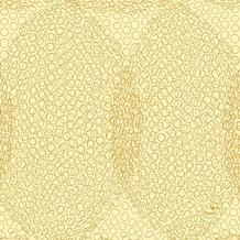 Duni Zelltuch-Servietten 3 lagig 1/4 Falz 24 x 24 cm Organic Honey, 250 Stück