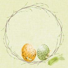 Duni Zelltuchservietten Easter Pasture 33 x 33 cm 250 Stück