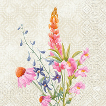 Duni Zelltuchservietten Floret 33 x 33 cm 250 Stück