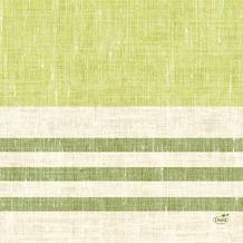 Duni Zelltuchservietten Raya kiwi 33 x 33 cm 1/4 Falz 50 Stück