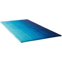 Dyckhoff Badteppich Colori blau WC-Vorlage 55 x 65 cm