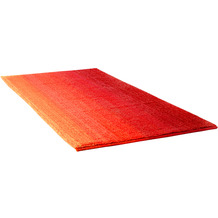 Dyckhoff Badteppich Colori rot WC-Vorlage 55 x 65 cm