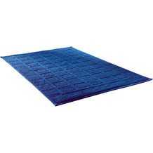 Dyckhoff Bio-Frottierserie Planet blau Badvorleger 50 x 80 cm, 3 Stück
