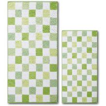 Dyckhoff Frottierserie Green Paradise grü�n Handtuch 50 x 100 cm, 6 Stück
