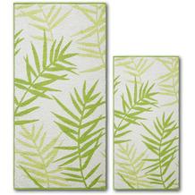 Dyckhoff Frottierserie Green Paradise gr�ün Handtuch 50 x 100 cm, 6 Stück