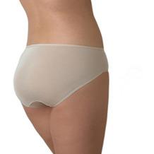Edgies Daywear Hüftslip Unterhose Slip Lasercut slip Microfaser Unsichtbares Höschen mit Silikonabschluss Haut L (42)