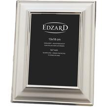EDZARD Bilderrahmen Partici silberfarben 13x 18cm