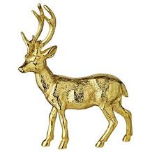 EDZARD Dekofigur Lasse goldfarben Höhe 27 cm