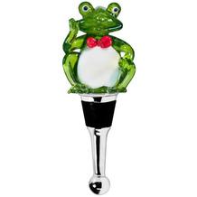 EDZARD Flaschenverschluss Frosch H 11 cm