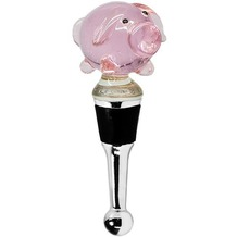 EDZARD Flaschenverschluss Schwein H 10 cm