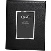 EDZARD Fotorahmen Geno 10x15 cm, schwarz