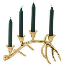 EDZARD Kerzenleuchter Kingston goldfarben