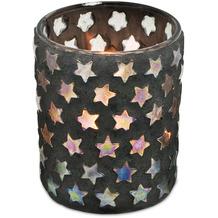 EDZARD Teelichtleuchter Sterne H 13 cm