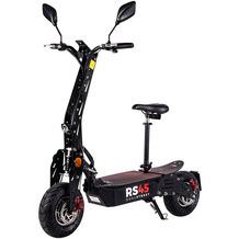 eFlux RS45 Pro schwarz mit Straßenzulassung, 2000 Watt, 48 Volt 20 Ah Lithium Ionen