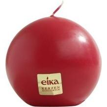 EIKA Kugelkerze, glatt rot Ø 70 mm