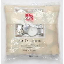 EIKA Teelichte, weiß 30er-Packung, weiß H16 x Ø 38 mm