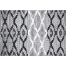 Einfach Schöner Teppich Leo, grau 133 x 190