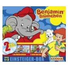 Benjamin Blümchen. 1+2. Einsteiger-Box. 2CDs Hörspiel