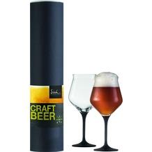 Eisch Craft Beer Experts Craft Beer Kelch 203/12 BLACK, 2 Stück in GR